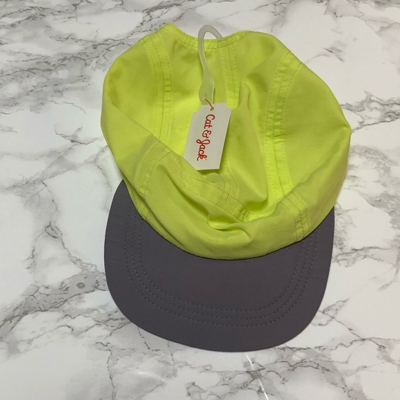 b9c52230 Cat & Jack Accessories | Nwt Boys Cat Jack Neon Yellow Hat 25t ...